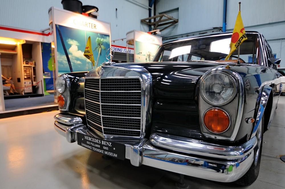 Mercedes-Benz Pullman 1965 гола в Датском музее науки и технологий