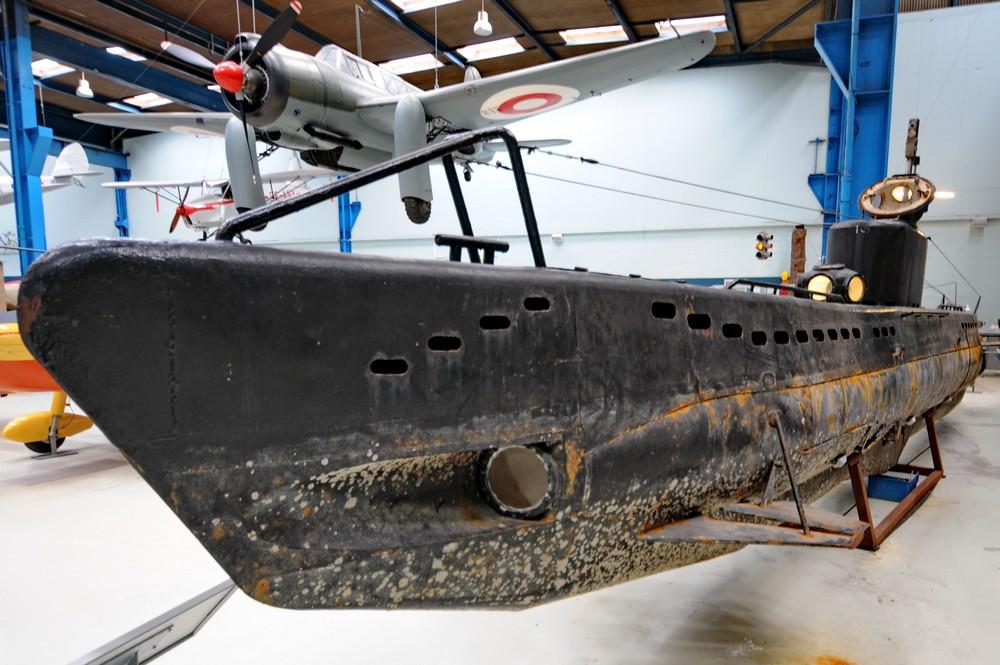 Подводная лодка в Danmarks Teknisk Museum в Эльсиноре