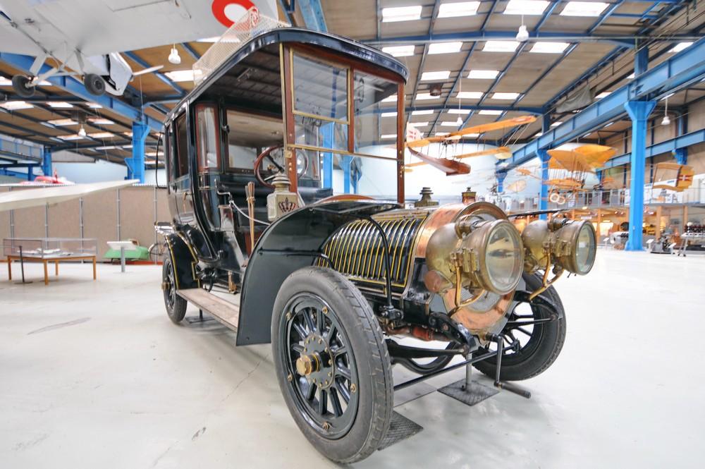 Delauney Belleville 1906 года выпуска. Первый автомобиль в датском королевском гараже