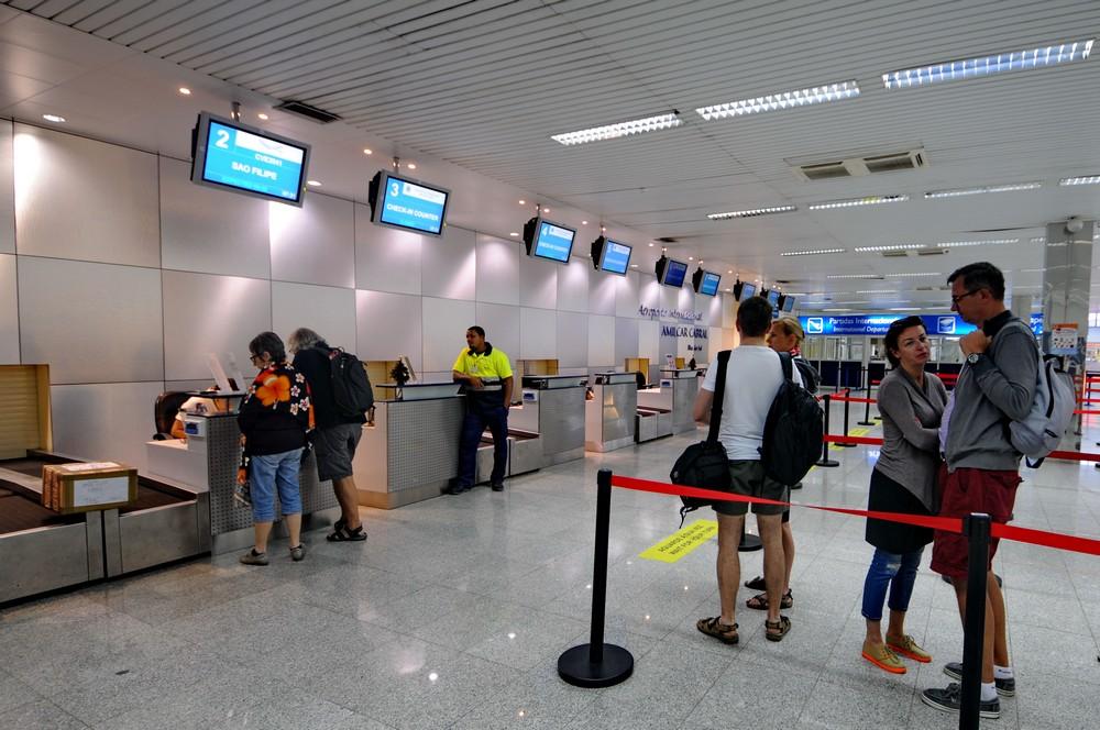 Аэропорт острова Сал. Регистрация