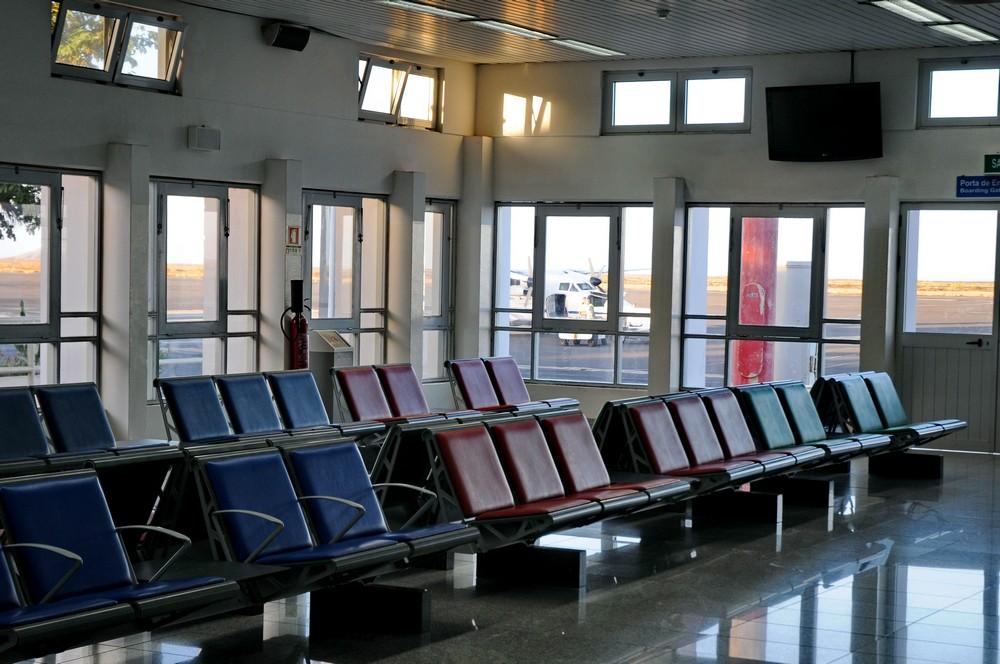 Аэропорт на острове Сал. Зал ожидания