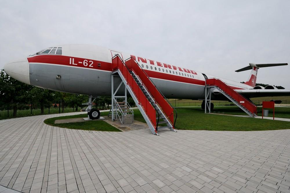 История авиакомпании Interflug. Музей в Штольне