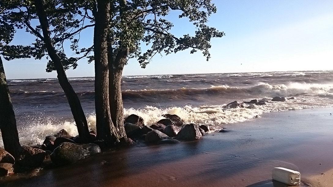 1396935 original Залив возомнил себя морем и разбушевался 17