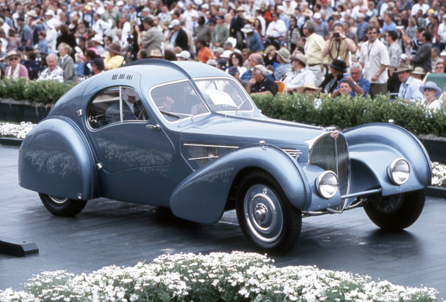 Bugatti Type 57SC Atlantic 1936 года,