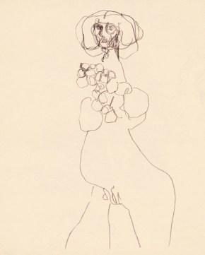 9_Alina_Szapocznikow,_Sketch_for_'Journey'_with_Growths_2,_ca._1970__AL-3