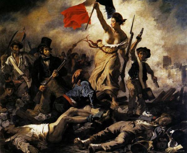 День взятия Бастилии - Три Марианны