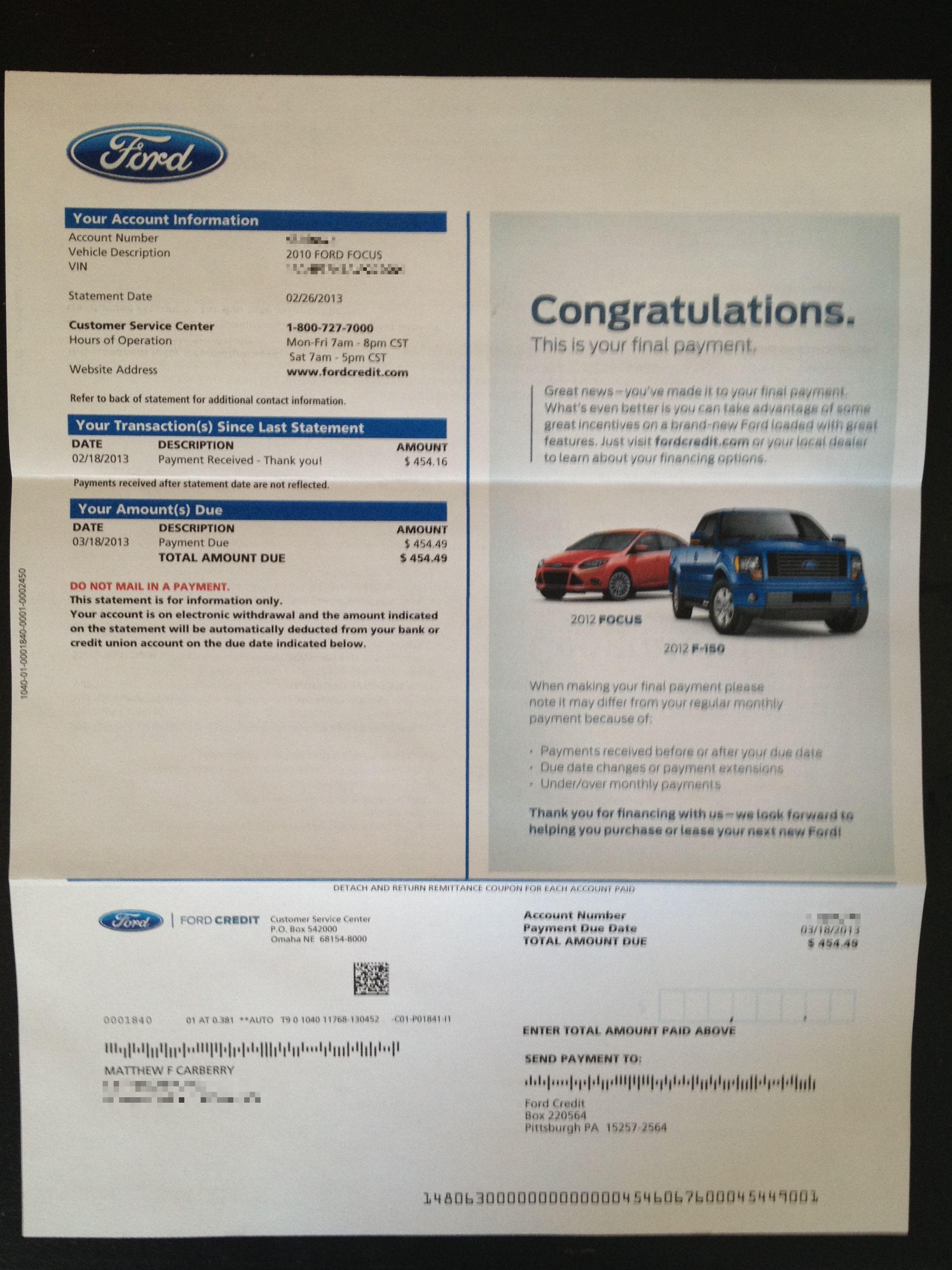 Ford Motor Credit Lien Release : motor, credit, release, Sandberg:,