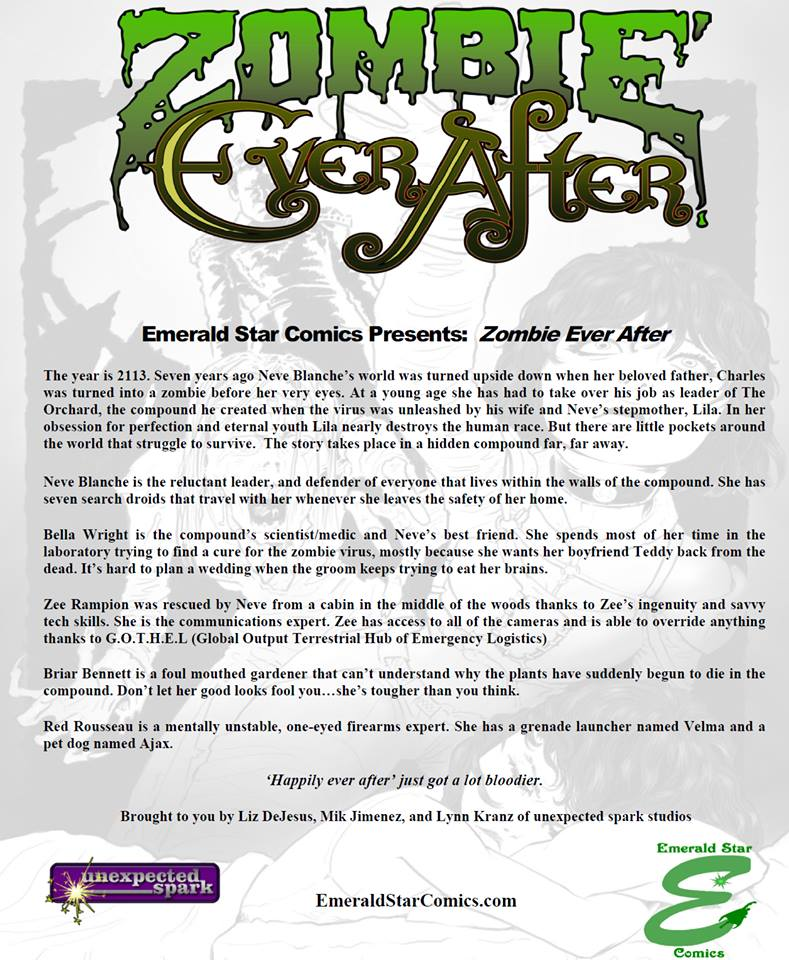zombie ever after press release