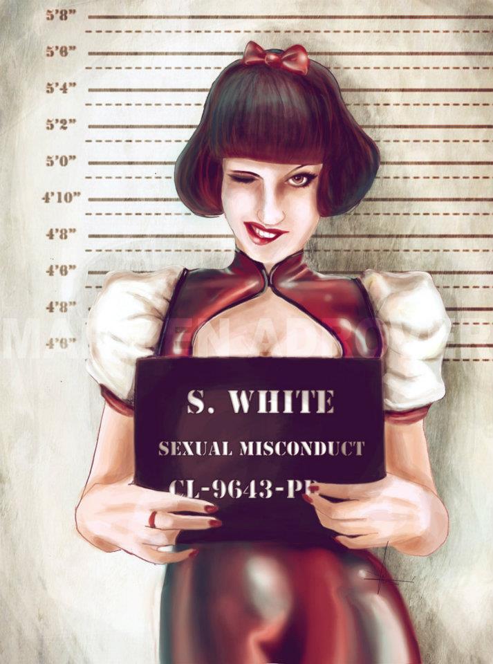 mugshots snow white marilen adrover