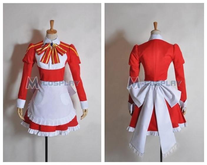 Sword Art Online Leprechaun Costume Maid Dress