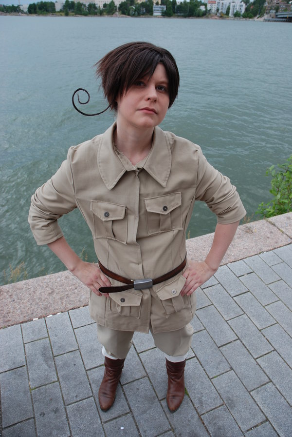 Hetalia South Italy cosplay