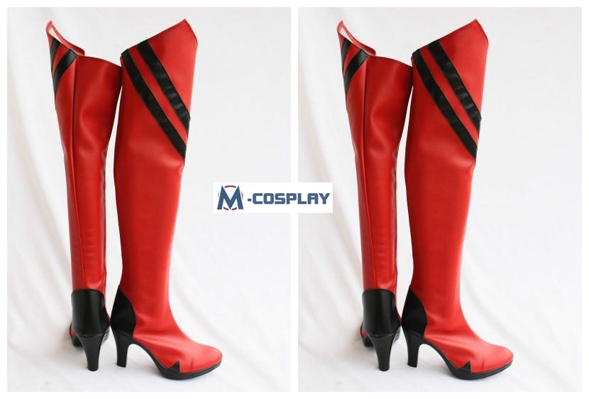 EVA Asuka Cosplay boots