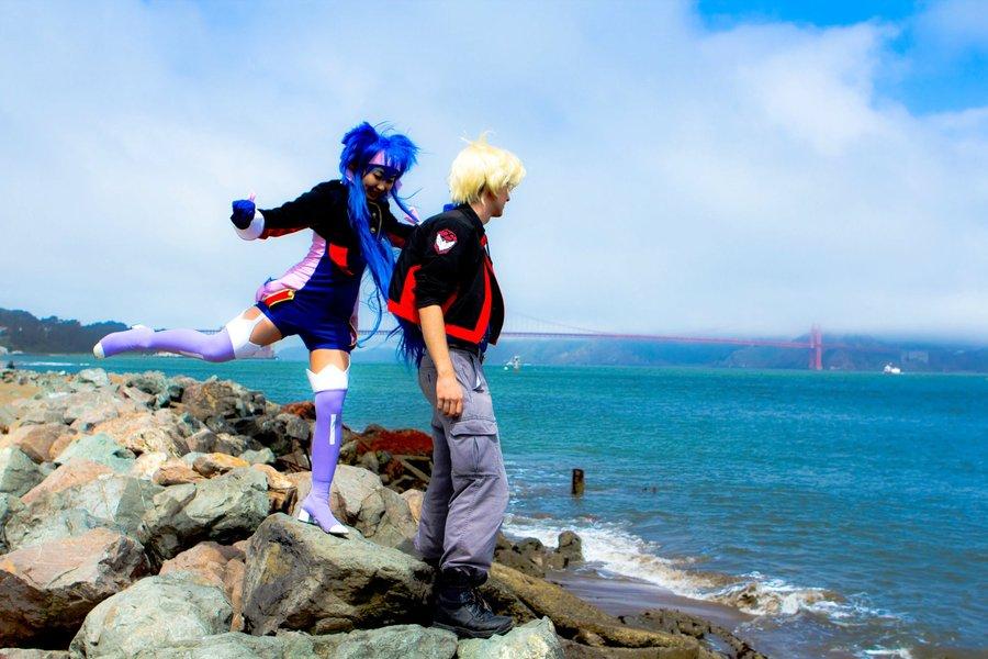 Macross Frontier cosplay