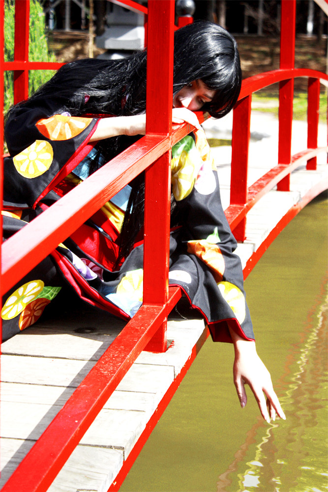 Jigoku Shoujo Enma Ai cosplay