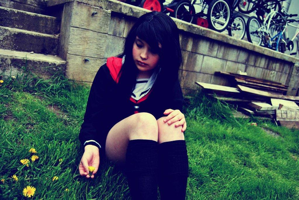 Hell Girl Ai Enma cosplay