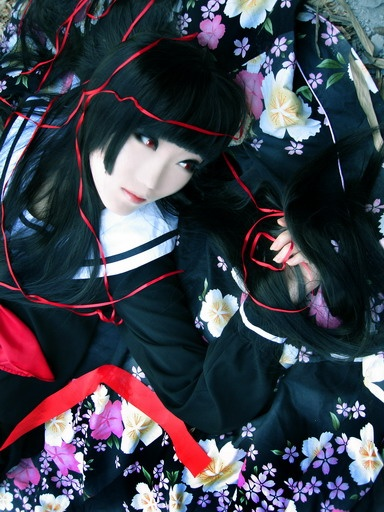 Jigoku Shoujo Ai Enam cosplay
