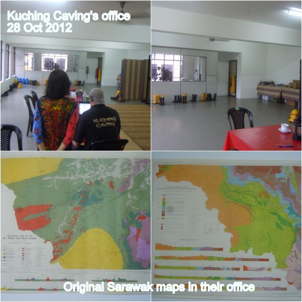 kuching caving's office