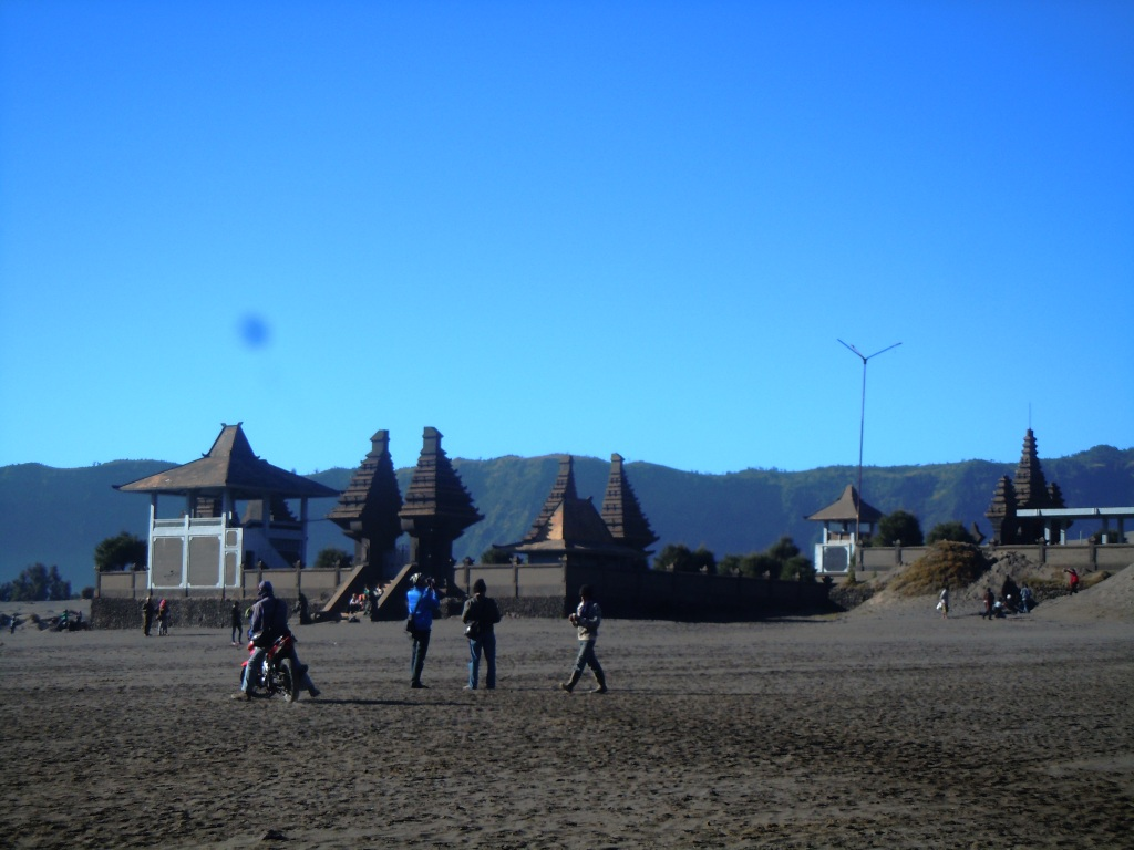 temple at bromo