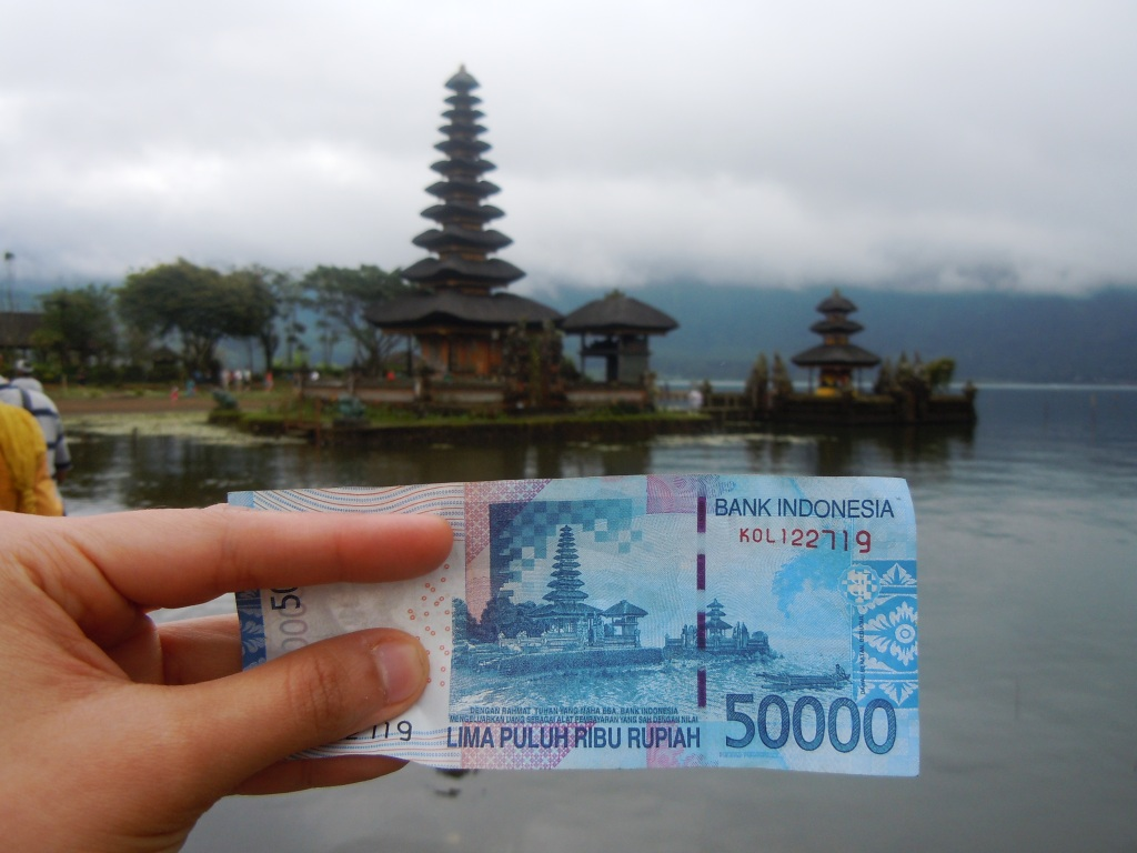 money at temple
