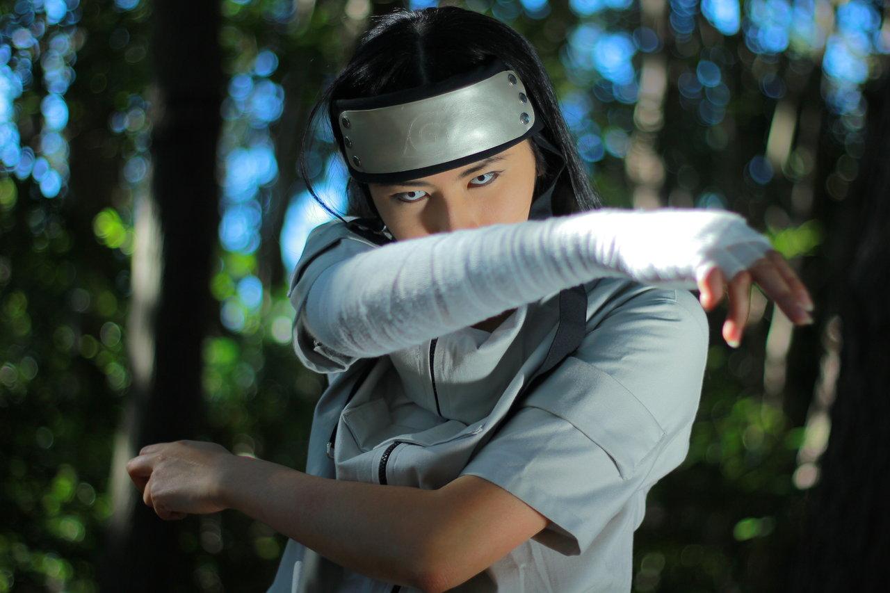 Naruto Hyuga Neji Cosplay