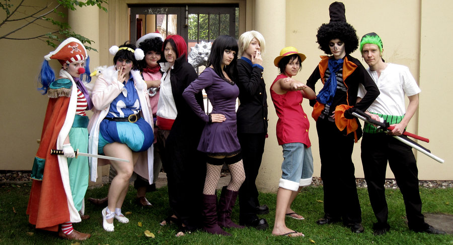 One Piecec group cosplay