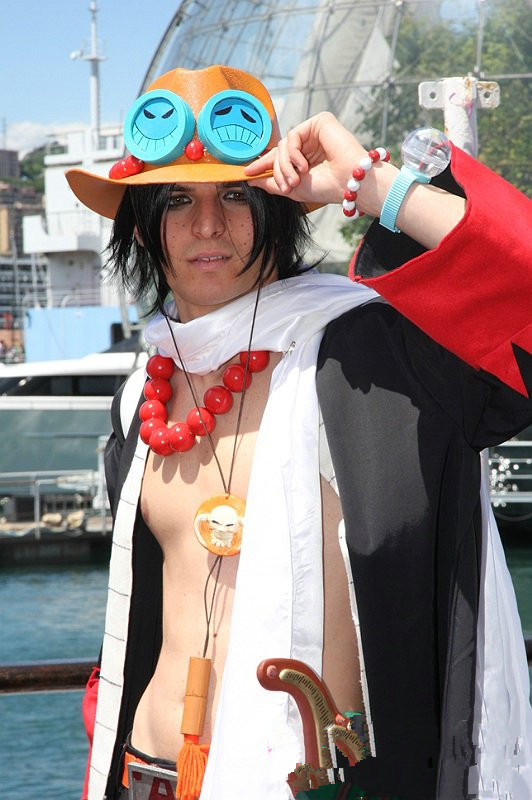 One Piece Portgas D.Ace cosplay