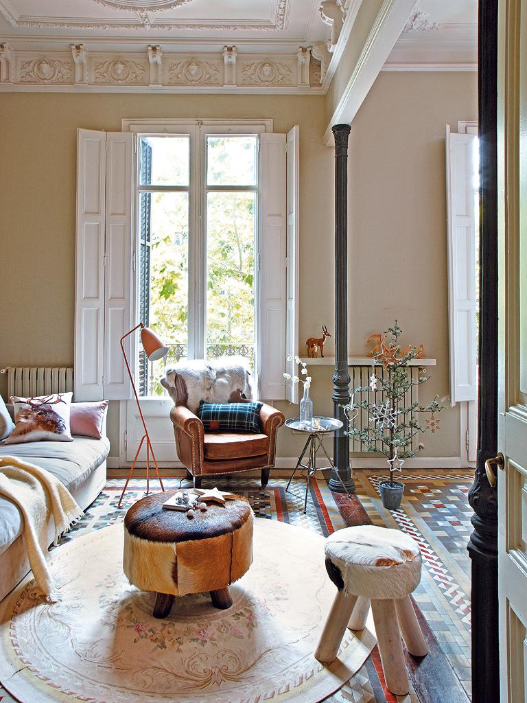 A splendid Spanish apartment