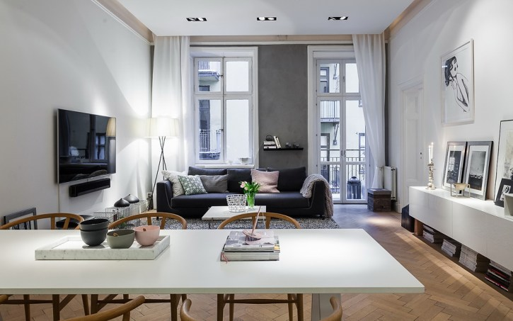Binnenkijken | Scandinavische stijl ingericht appartement - #woonblog Stijlvol Styling www.stijlvolstyling.com