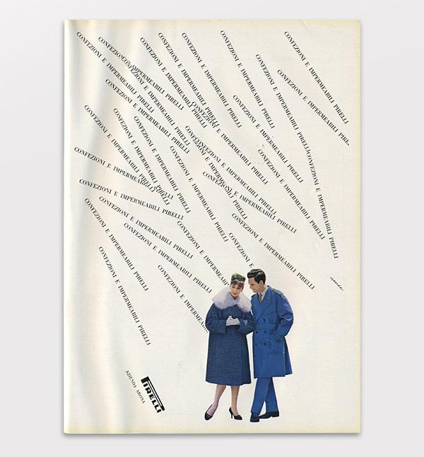 Боб Ноорда (Bob Noorda). Реклама Pirelli, 1959