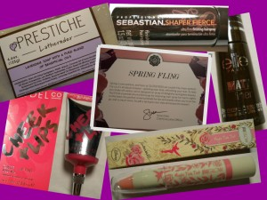 March glossybox 2013