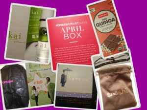 April Popsuhar Box