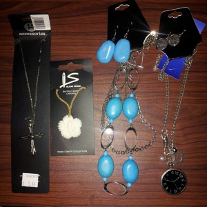 Thrift store jewelry haul Sep 17