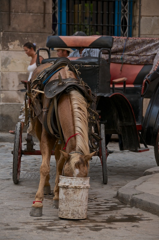 На улицах Гаваны, Куба