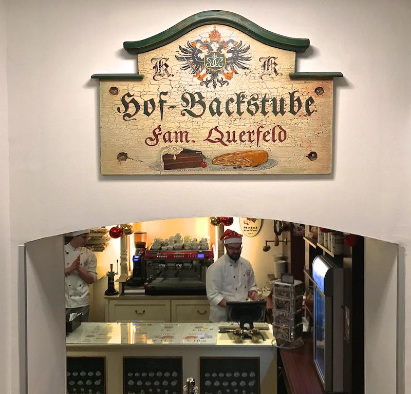 Австрия, Вена. Шоу яблочного штруделя