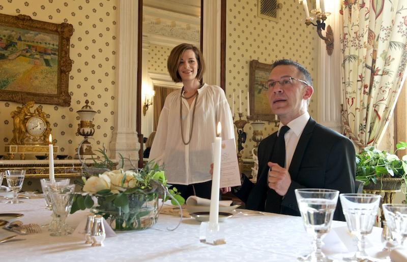 Обед в посольстве Франции