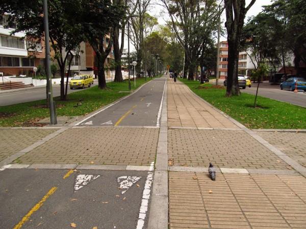 Богота велодорожки
