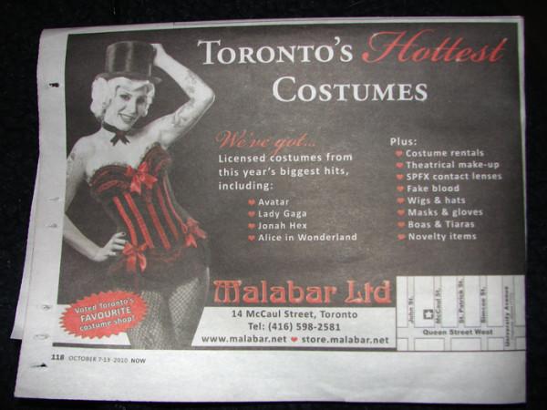 Malabar Halloween Costumes