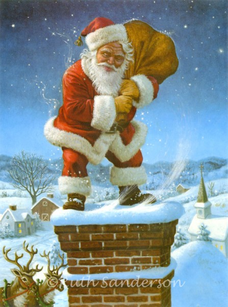 CS414_Santa-on-Chimney