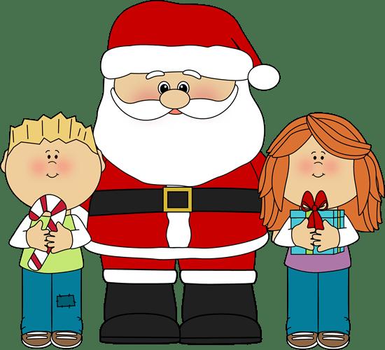 santa-and-kids