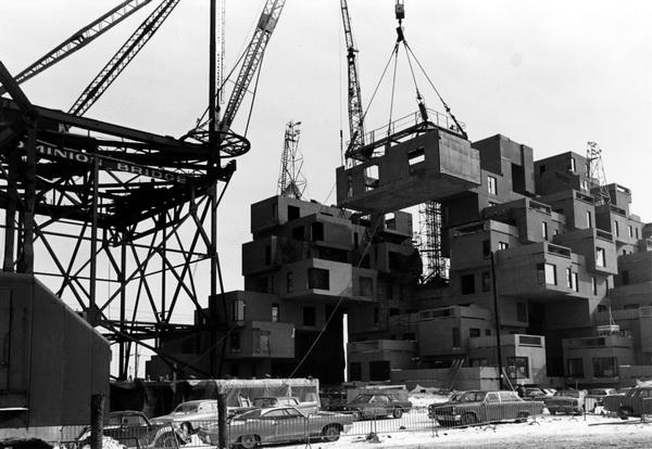 Habitat 67 - Building Process