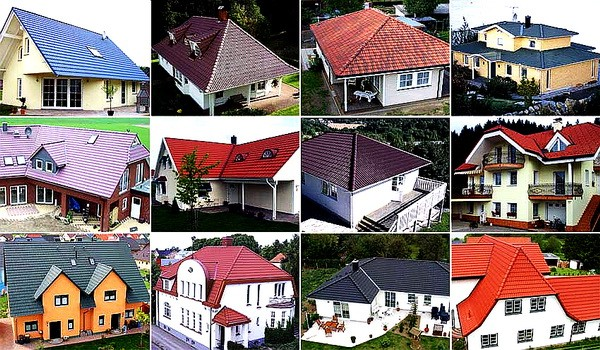 Learning real estate terms roof types happy houses for for Types of roofs for houses