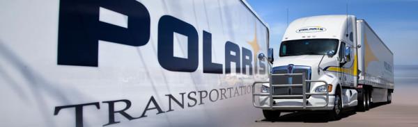Polaris transportation truck
