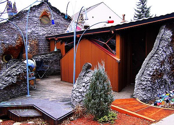 Fabulous Mushroom House