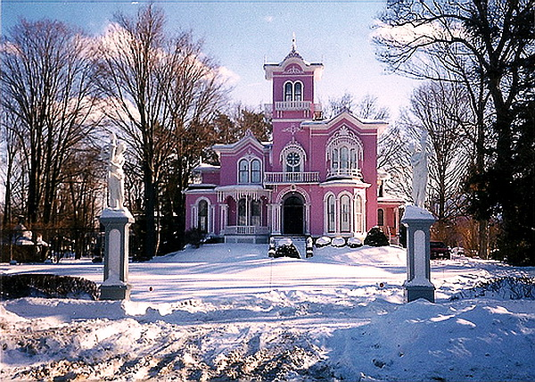 Winter at Pink House