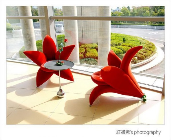 Flower Arm Chairs