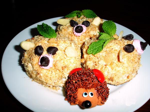 Porcupine Pastries