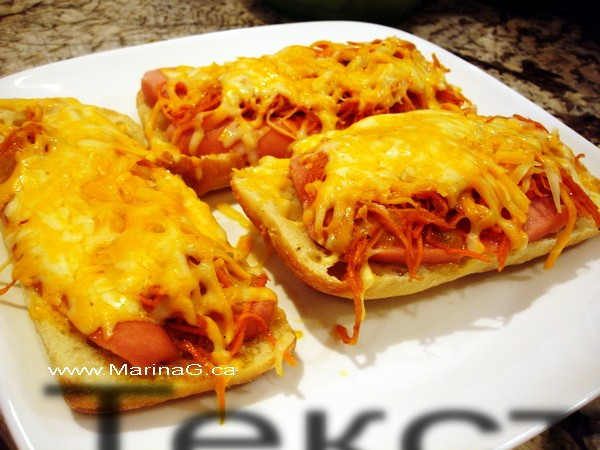 Korean Carrots - In Sandwiches