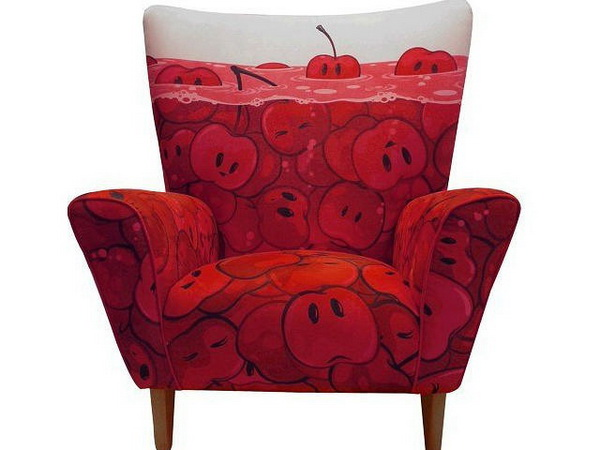 CHerry Armchair