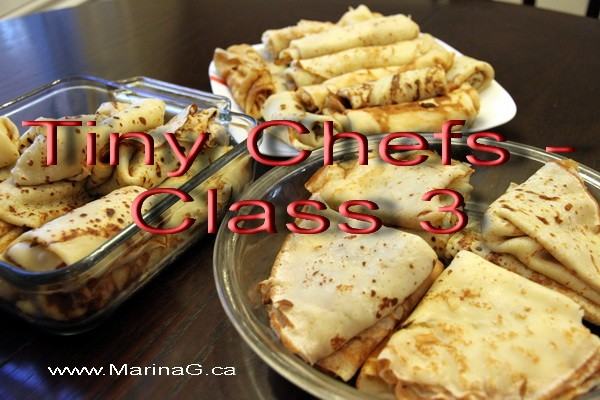 Tiny Chefs - Class 3
