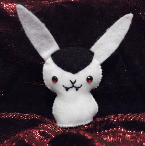 Cute Rabbit Wallpaper Bunnicula Plush Craftgrrl Where Crafters Unite